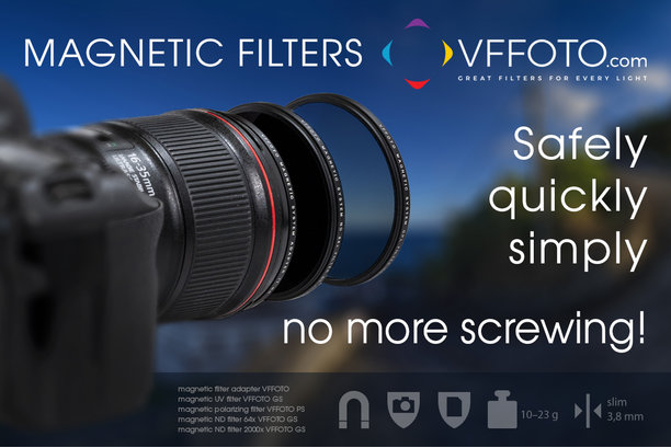 Titanium UV filter VFFOTO